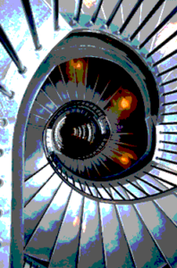 Mind control stairwell icon